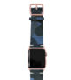 Blue-Combact-Apple-watch-suede-camouflage-band-on-top-rose-gold-case