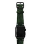 Green-Guerilla-Apple-watch-camouflage-band-on-top-black-case