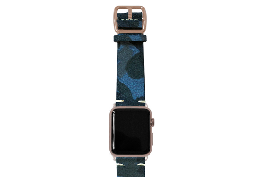 blue-camou-suede-band-with-alum-gold-adaptors
