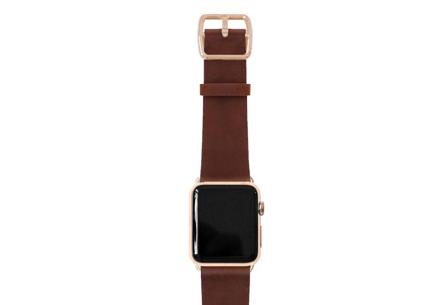 Burnt Apple watch band
