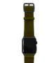 Deep-Leaf-Apple-watch-green-genuine-leather-band-with-black-case