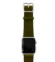 Deep-Leaf-Apple-watch-green–genuine-leather-band-with-stainless-case