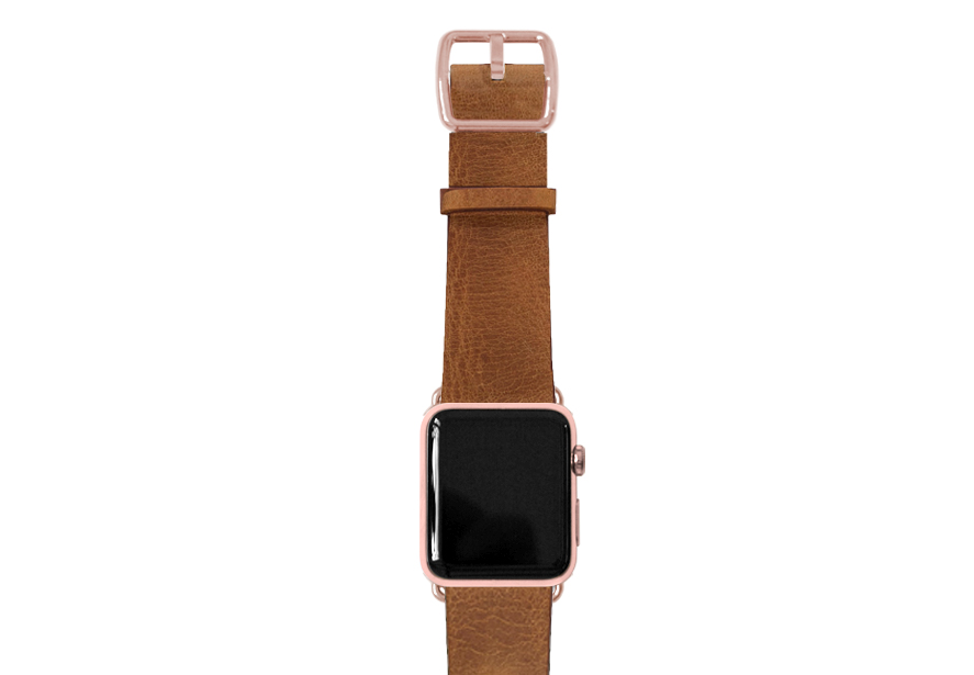 Tawny Apple watch band
