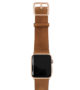 Tawny-Apple-watch-light-brown-genuine-leather-band-with-gold-series-3-case
