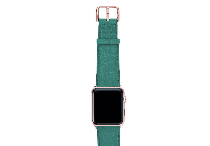 Turquoise-nappa-band-on-top-with-rose-gold-adaptors
