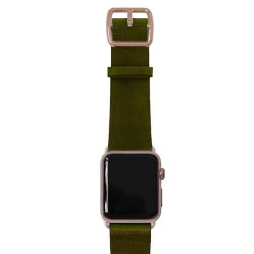 clay-green-AW-band-with-alum-gold-adaptors