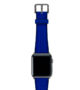 Deep-Ocean-Apple-watch-blue-natural-rubber-strap-with-space-grey-case