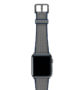 Summer-Cloud-Apple-watch-grey-natural-rubber-strap-with-space-gray-case