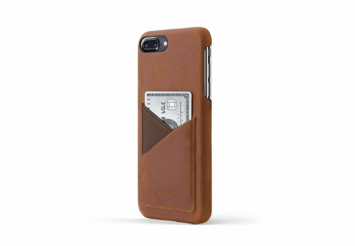 iPhone-8-plus--light-bronw-leather-case-on-side