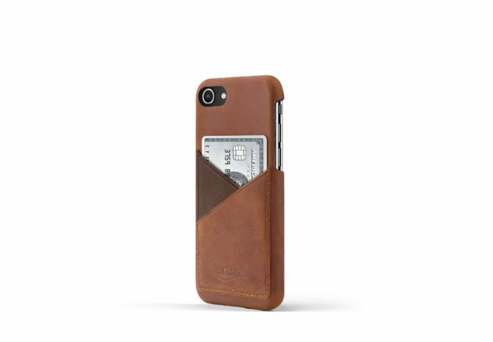iPhone-8-light-bronw-leather-case-on-side