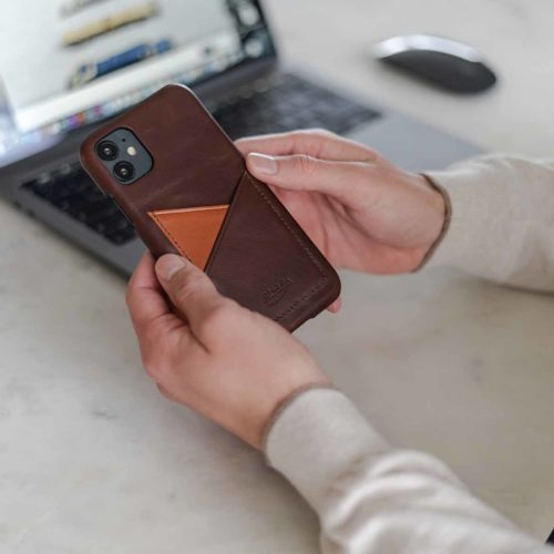 Cigar-iPhone11-brown-leather-case-for-him-beyond-a-macbook