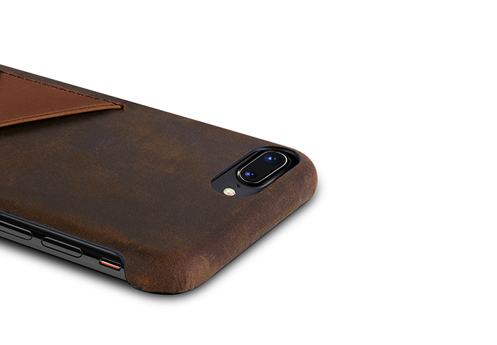 iPhone-7-8-plus-dark-brown-Leather-case-on-top