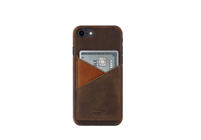 iPhone-7-8-dark-brown-Leather-case-front-side