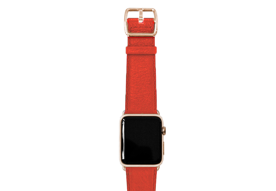 nappa_coral-band-with-stainless-gold-adaptors