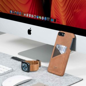 Tawny+Barrel-Apple-light-brown-leather-accessories-close-to-a-macbook-screen