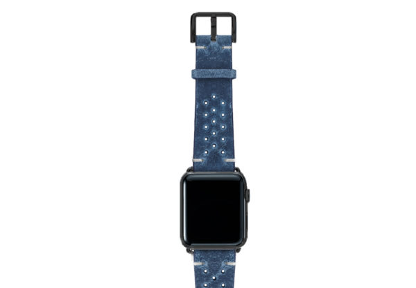 Breathe-AW-blue-AW-calf-leather-band-with-holes-and-case-black