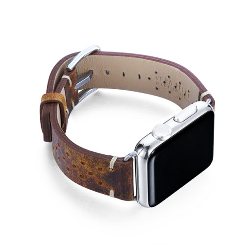 Care-AW-brown-calf-leatehr-band-with-holes-and-case-on-right