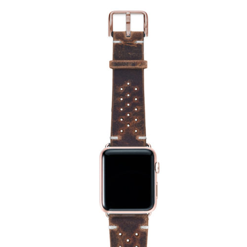 Care-AW-brown-calf-leatehr-band-with-holes-with-case-alum-gold-series4