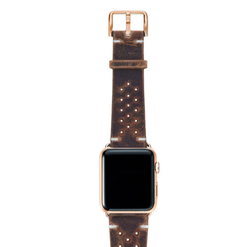 Care-AW-brown-calf-leatehr-band-with-holes-with-case-stainless-gold-series4
