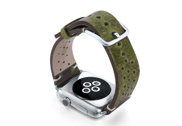 Hope-AW-green-calf-leather-band-with-holes-and-case-back