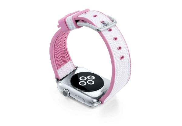 Pink-Sand-AW-white-rubber-band-with-pink-lining-and-back-case