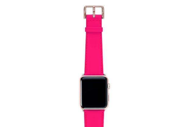Iced-Watermelon-AW-pink-fluo-nappa-band-with-case-alumnium-gold-4