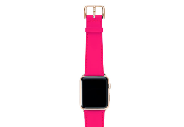 Iced-Watermelon-AW-pink-fluo-nappa-band-with-case-gold-series-3