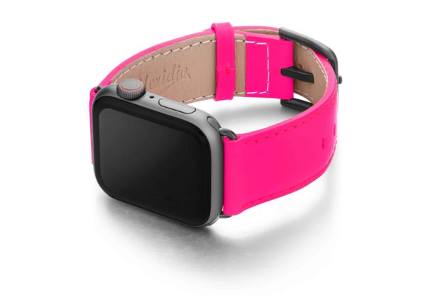 Iced-Watermelon-AW-pink-fluo-nappa-band-with-case-on-left