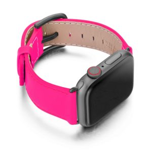 Iced-Watermelon-AW-pink-fluo-nappa-band-with-case-on-right