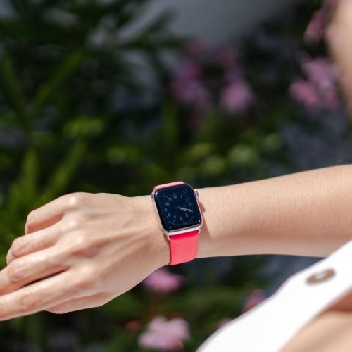 Iced Watermelon-Apple-watch-fuchsia-fluo-band-summer-outfit-bs