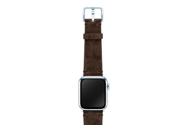 Deep-Foosil-AW-ancient-leather-band-on-top-silver