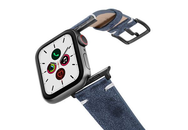 Moon-Sky-AW-ancient-leather-band-on-air-with-space-grey-adapters