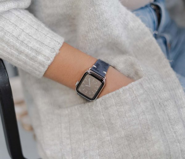 Moon-Sky-AW-blue-ancient-leather-band-for-her