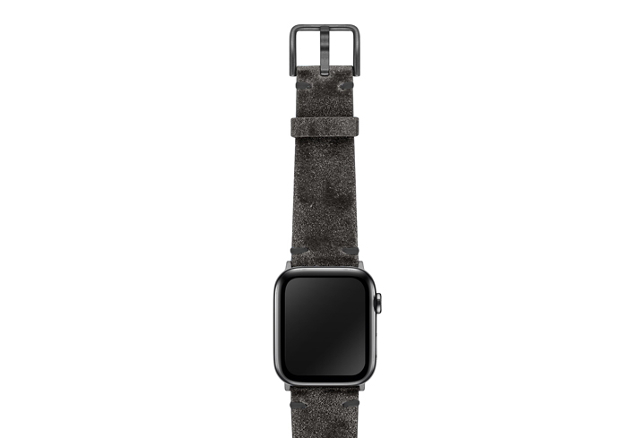 Petrified-AW-ancient-leather-band-on-top-space-grey