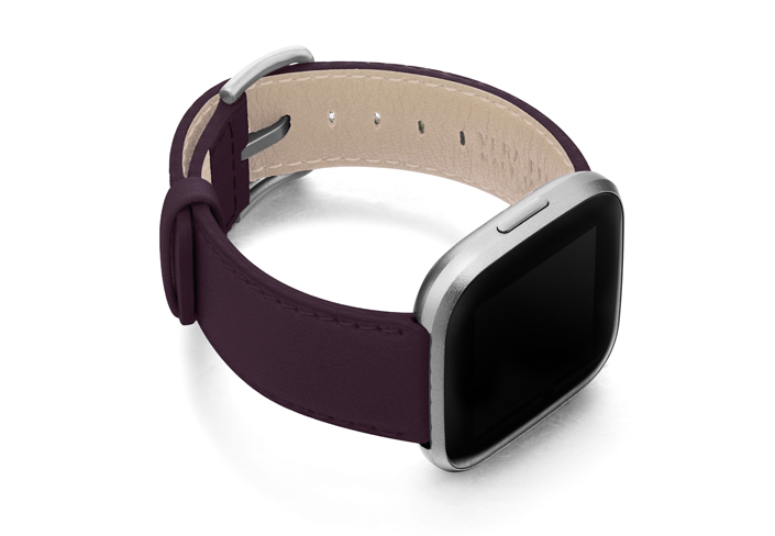 Burgundy-Fitbit-nappa-band-with-right-case