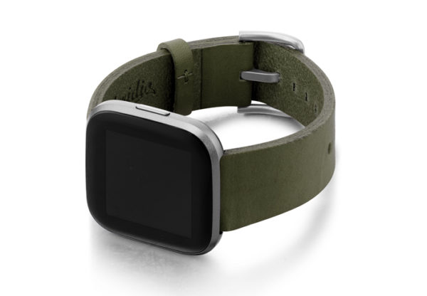 Deep-Leaf-Fitbit-nappa-band-with-left-case