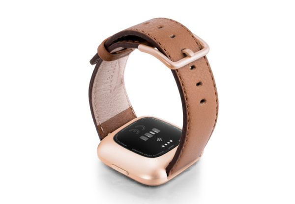 Goldstone-Fitbit-brown-nappa-leather-band-with-back-rose-aluminium-case