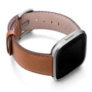 Goldstone-Fitbit-brown-nappa-leather-band-with-case-on-right