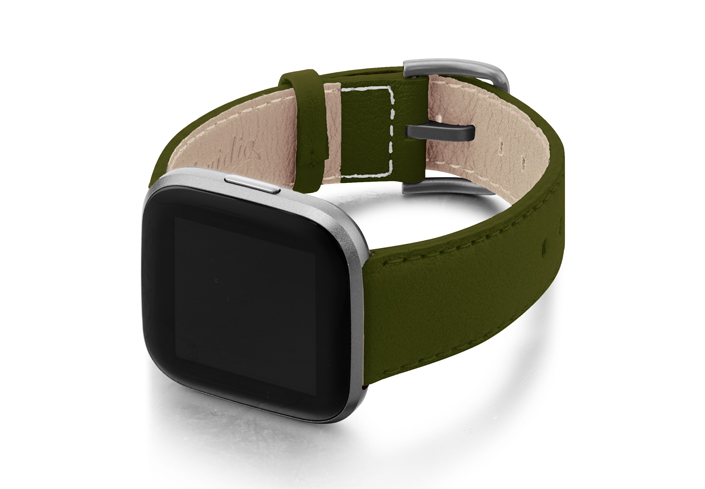Musk-Fitbit-nappa-band-with-left-case