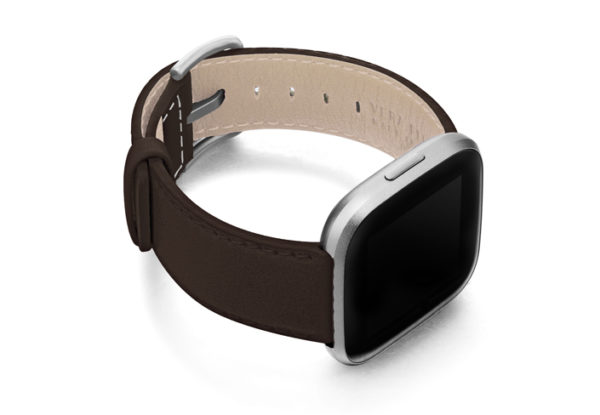 Slate-Brown-Fitbit-nappa-band-with-right-case