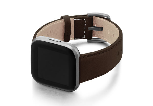Slate-Brown-Fitbit-nappa-leather-band-with-back-case