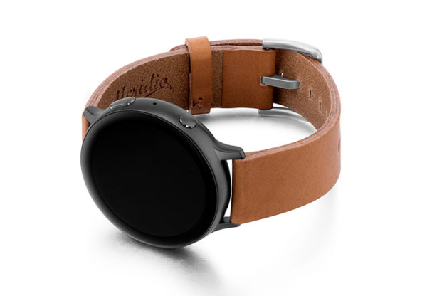 Tawny-Galaxy-Watch-powder-full-grain-Leather-band-with-case-on-left.jpg