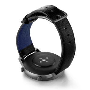 Amazfit-GTR-black-nappa-leather-band-back-case