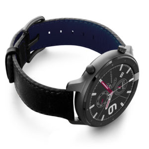 Amazfit-GTR-black-nappa-leather-band-with-display-on-right