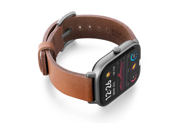 Amazfit-GTS-light-brown-full-grain-leather-band-with-case-on-RIGHT