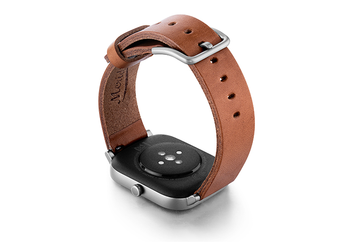 Amazfit-GTS-light-brown-full-grain-leather-band-with-case-on-back