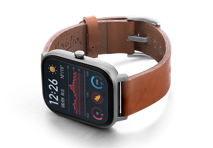 Amazfit-GTS-light-brown-full-grain-leather-band-with-case-on-left.jpg