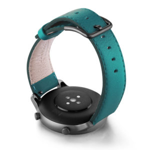 Amazfit-GTR-turquoise-nappa-leather-band-back-case