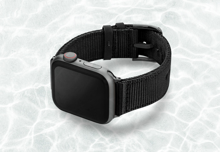 AW-black-tide-recicled-by-ocean-band-44mm-case-on-left-with-space-grey-adaptors