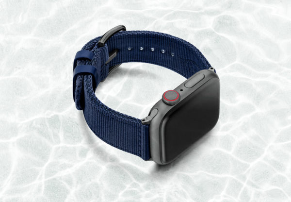 AW-blue-tide-recycled-by-ocean-band-44mm-case-on-right-with-space-grey-adaptors